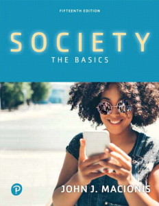 Society the basic fifteenth edition